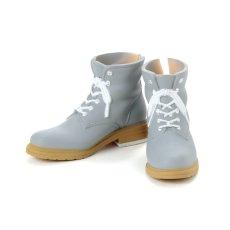Photo1: Men's Work Boots, Cool-Gray / メンズワークブーツ クールグレー (1)