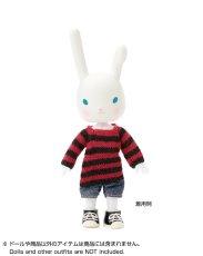 Photo3: Dress11: mini Closet, Long Knit, Stripe / ミニクローゼット ロングボーダーニット (3)