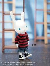 Photo5: Dress11: mini Closet, Long Knit, Stripe / ミニクローゼット ロングボーダーニット (5)