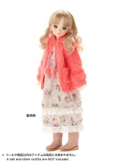 Photo2: Dress: Knit Cardigan, Salmon-Orange, for ruruko. /ニットカーディガン サーモンオレンジ (2)