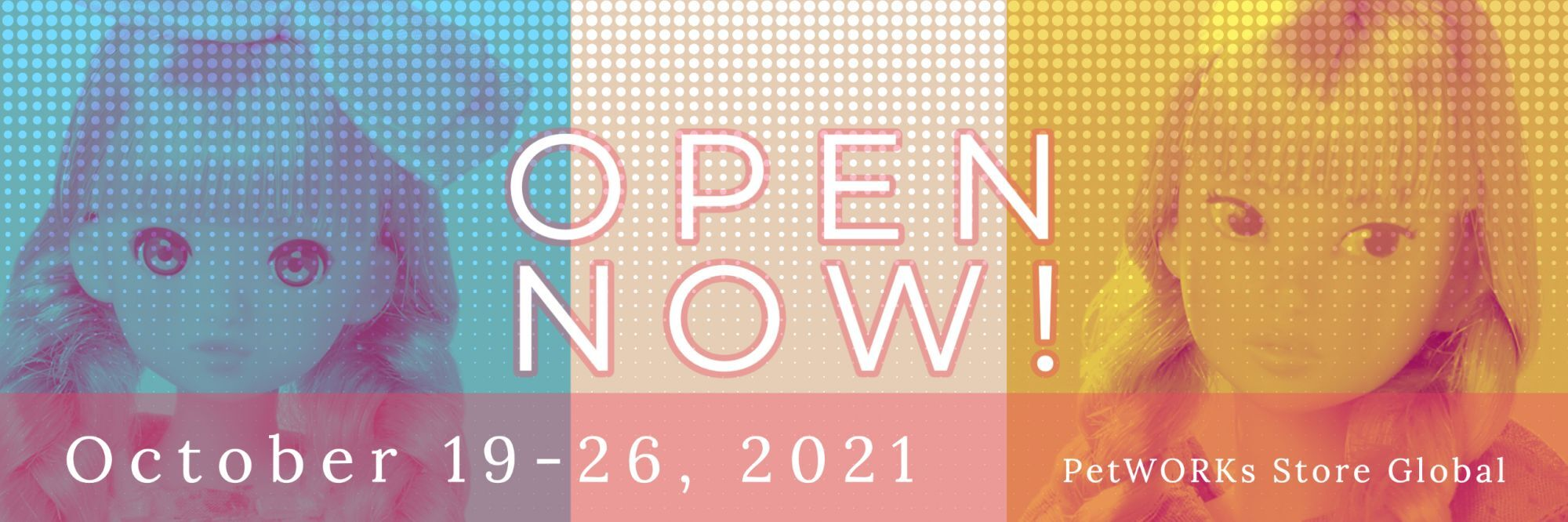 Temporary OPEN NOW!: Oct 19-26, 2021