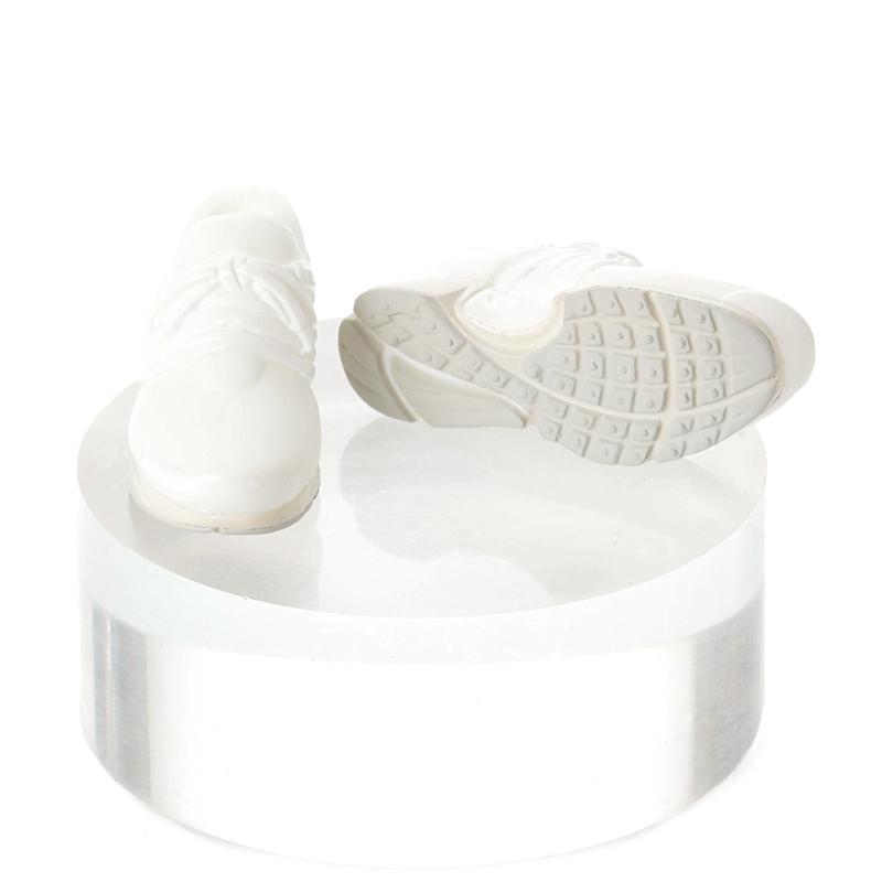 Photo1: Running Shoes, White×White / ハイテクスニーカー ホワイト×ホワイト (1)