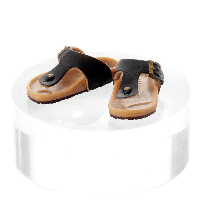 Photo1: Relax Sandals, Black / リラックスサンダル ブラック (1)
