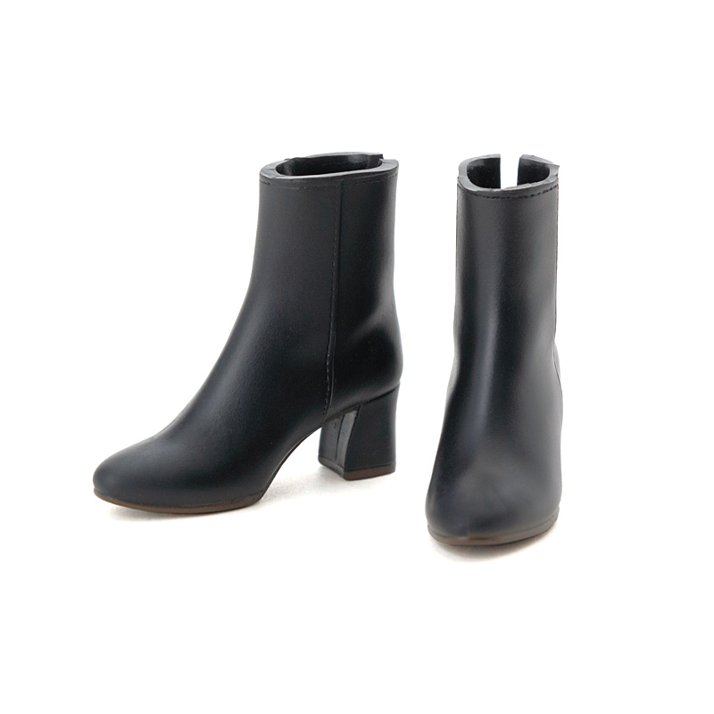 Photo1: CCS Short Boots, Black / ショートブーツ ブラック (1)