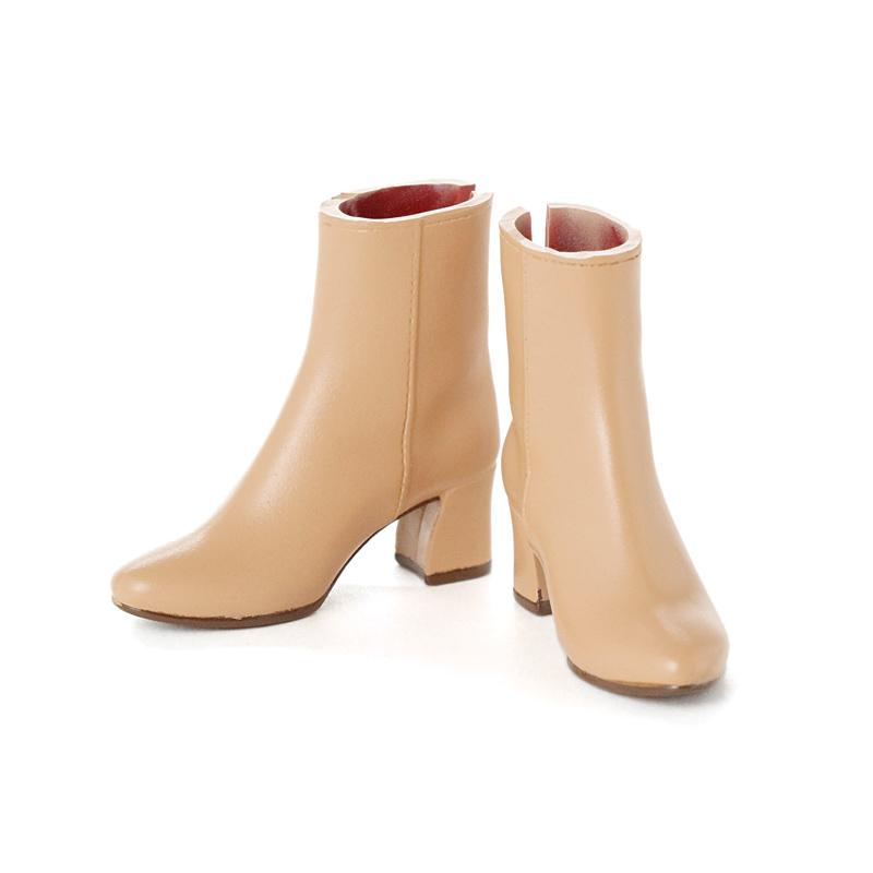 Photo1: CCS Short Boots, Beige / ショートブーツ ベージュ (1)