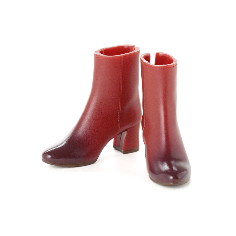 Photo1: CCS Short Boots, Red-Brown / ショートブーツ レッドブラウン (1)