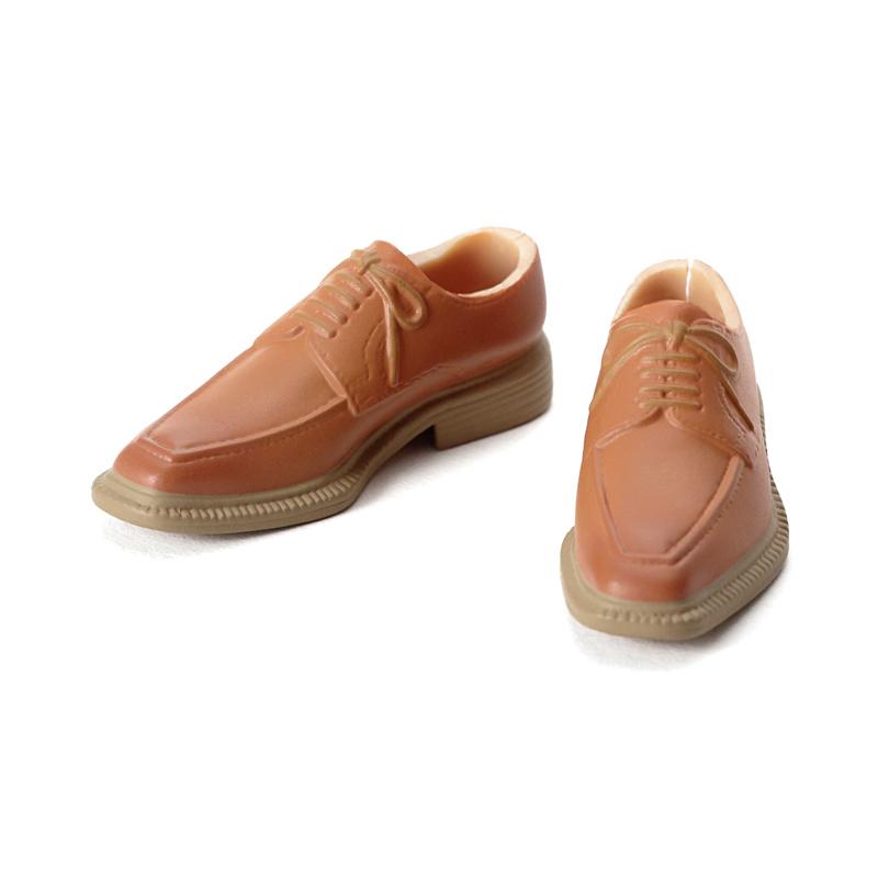 Photo1: CCS U-Tip shoes, Brown x Beige Sole / Uチップ ブラウン×ベージュソール (1)