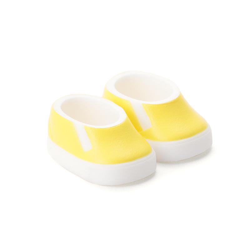 Photo1: DecoNiki Shoes, Slip-ons, Yellow / でこニキスリッポン イエロー (1)