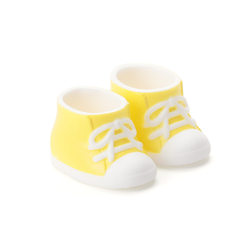Photo1: DecoNiki Shoes, Sneakers, Yellow / でこニキスニーカー イエロー (1)