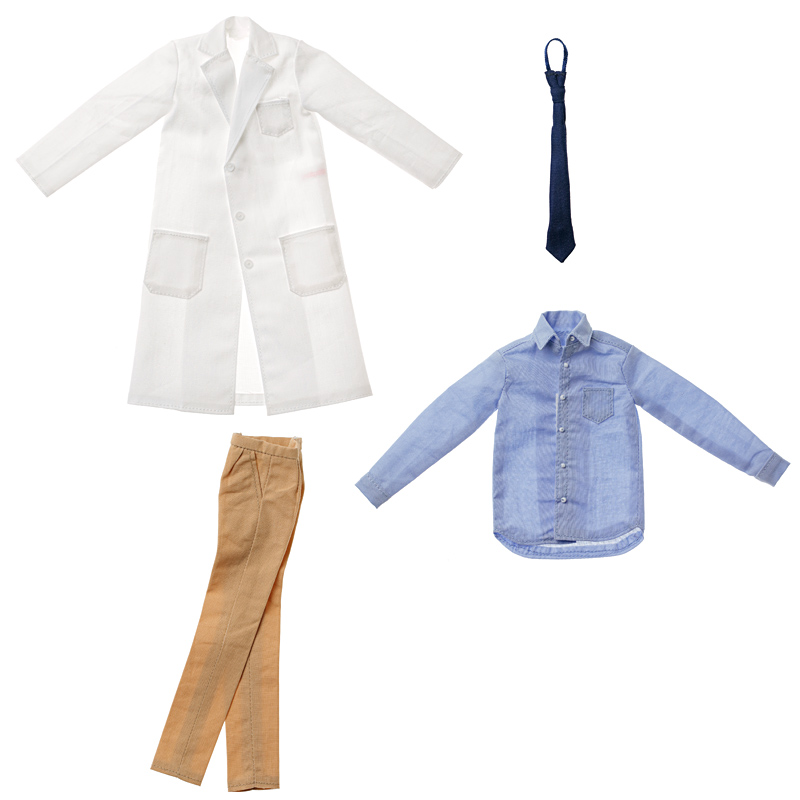 Photo1: Dress: Men's Lab Coat Set,  Beige / メンズ白衣セット ベージュ (1)