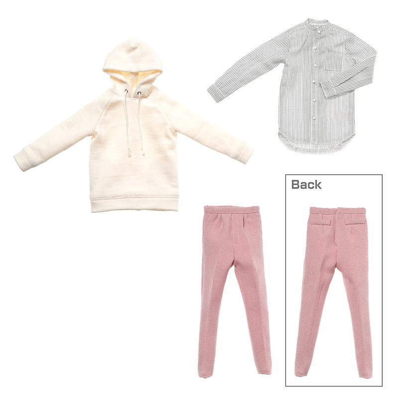 Photo1: Dress: Men's Hoodie Set / メンズパーカーコーデセット (1)
