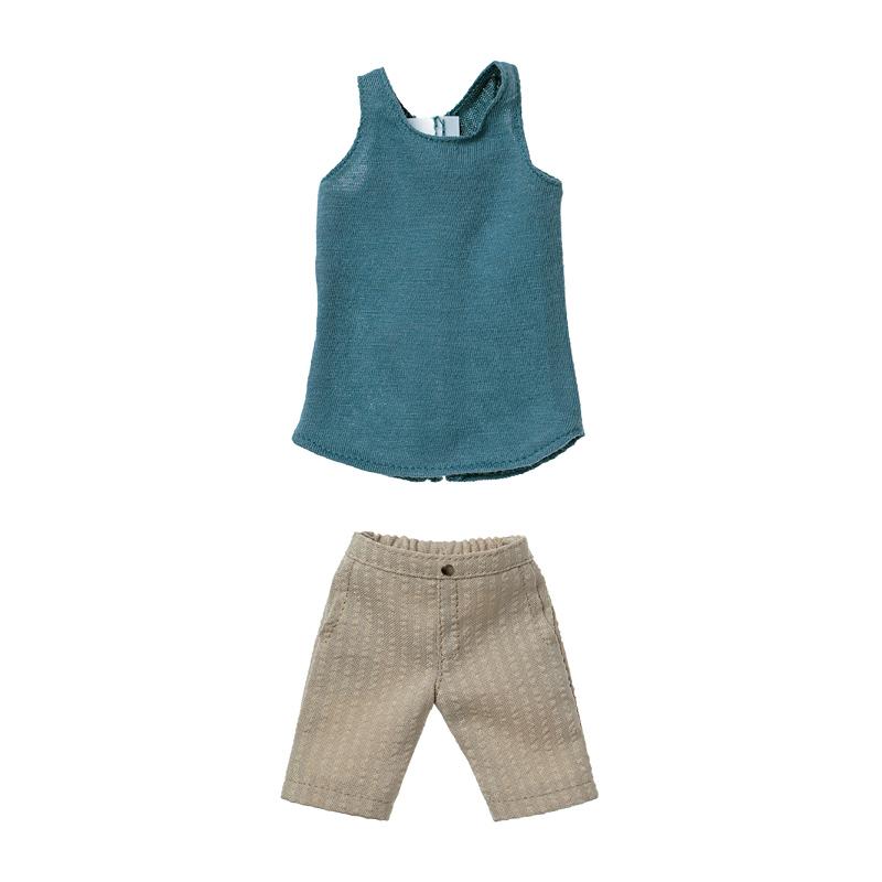 Photo1: Dress: Men's Half Pants Set,  Beige / メンズサーフパンツセット ベージュ (1)