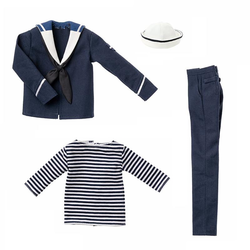 Photo1: 30% OFF SALE! Dress: Men's Sailor Set, Navy / メンズセーラーセット ネイビー (1)