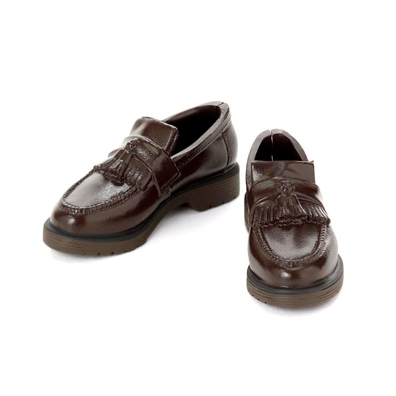 Photo1: Men's Tassel Loafers, Dark-Brown / メンズタッセルローファー ダークブラウン (1)