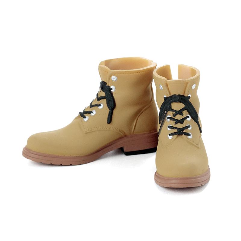 Photo1: Men's Work Boots, Khaki-Beige / メンズワークブーツ カーキベージュ (1)