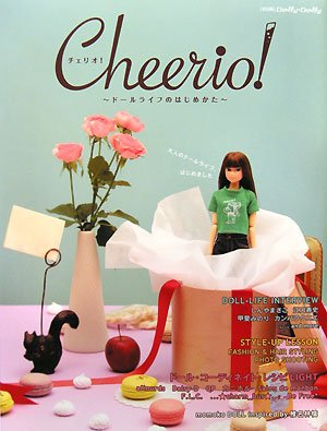Photo1: momoko Book: Cheerio! How to start doll life. チェリオ! ドールライフのはじめかた (別冊dolly・dolly)  (1)