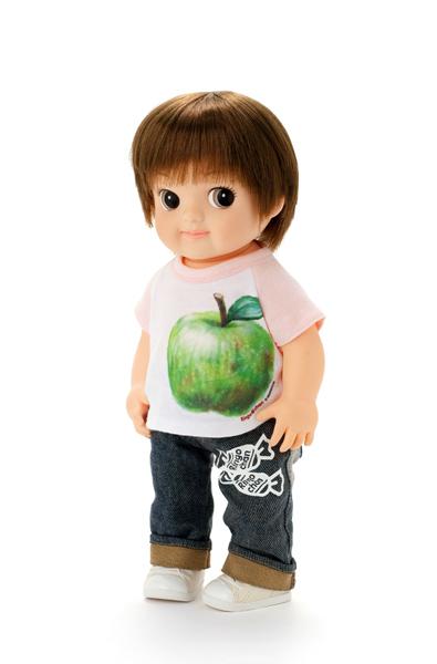 Photo1: Ringo-chan, Green Apple / りんごちゃんグリーンアップル (1)