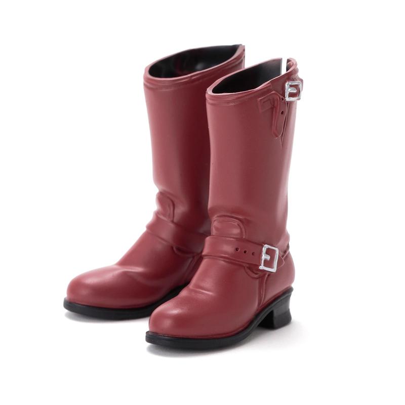 Photo1: Sekiguchi shoes, Engineer Boots, Red-Brown / エンジニアブーツ 海老茶 (1)