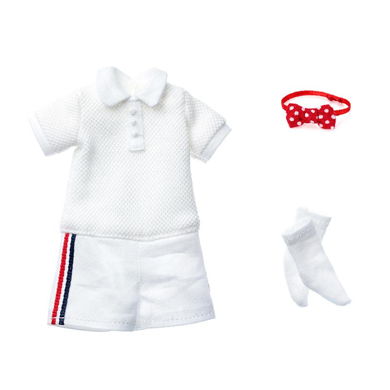 Photo1: Dress: All-in-One Shorts Set for ruruko / ショートパンツオールインワンセット (1)
