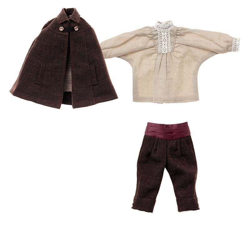 Photo1: Classical Mantle & Half Pants set / クラシカルマント&ハーフパンツセット (1)