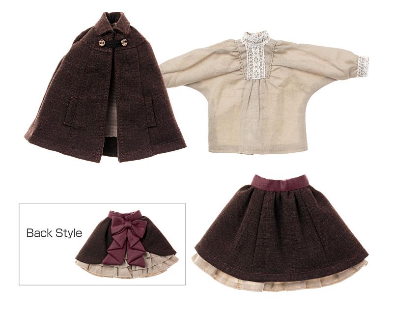 Photo1: Classical Mantle & Skirt set / クラシカルマント&スカートセット (1)