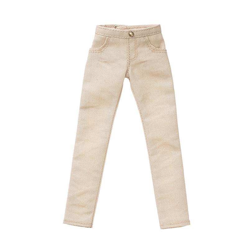 Photo1: Dress: Cotton Pants, Beige, for ruruko/ コットンパンツ ベージュ (1)